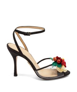 Charlotte Olympia | Tropicana Silk Sandals
