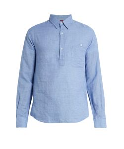 BARENA VENEZIA | Point-Collar Linen And Cotton-Blend Shirt