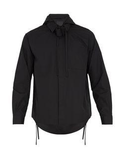 Craig Green | Hooded Tie-Neck Cotton Shirt