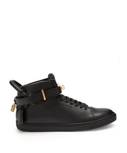 Buscemi | Core Clip Leather High-Top Trainers