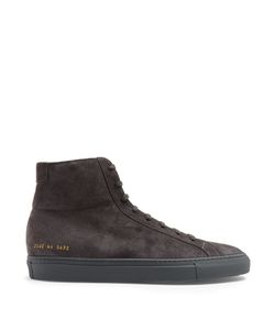 Common Projects | Original Achilles High-Top Suede Trainers