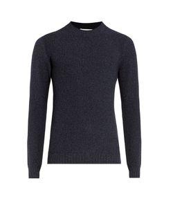 Orley | Crew-Neck Silk-Blend Sweater