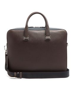 Dunhill | Cadogan Bi-Colour Leather Briefcase