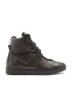 Loewe | High-Top Leather Trainers