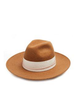 Federica Moretti | Bee Wool-Felt Fedora Hat