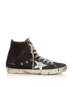 Golden Goose Deluxe Brand | Francy High-Top Denim Trainers
