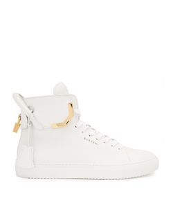 Buscemi | 125mm Corner Leather High-Top Trainers