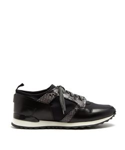 Oamc | Marathon Low-Top Leather-Trimmed Trainers