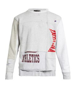 Longjourney | Nash Athletics-Print Cotton-Jersey Sweatshirt