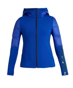 Fendi   Logo-Print Quilted Down Performance Jacket