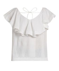 Cecilie Copenhagen   Ruffled Cotton Top