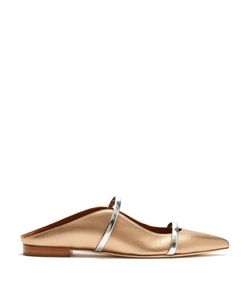 Malone Souliers | Maureen Backless Leather Flats