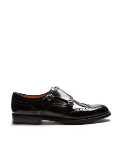 Church's | Lana Leather Monk-Strap Shoes