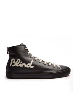 Gucci | Blind For Love High-Top Leather Trainers