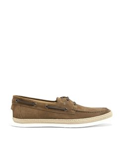 Tod's | Suede Deck Shoes