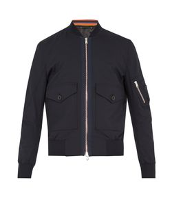 Paul Smith | Patch-Pocket Wool-Blend Bomber Jacket