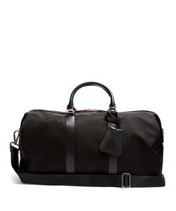 Neil Barrett | Leather-Trimmed Nylon Holdall
