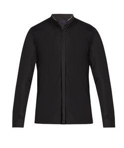 Lanvin | Mandarin-Collar Single-Cuff Cotton Shirt