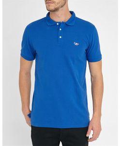 Maison Kitsuné | Royal Tricolour Patch Polo Shirt