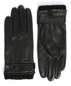 Agnelle | Georges Smooth Leather Touchscreen Unlined Gloves