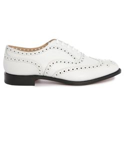 Church's | Burwood Perforated Leather Brogues