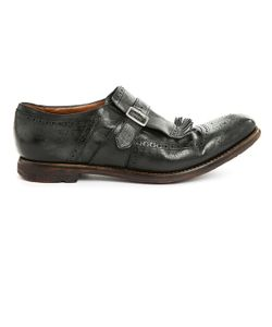 Church's | Shanghai Aged Leather Golf Shoes