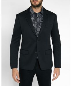 Kenzo | Printed Lined Collar Jersey Jacket