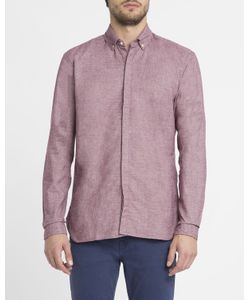 Oliver Spencer | Aston Micro Chevron Shirt