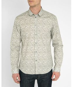 Carven | Multi-Coloured Ginkgo Flowers Round-Neck Shirt