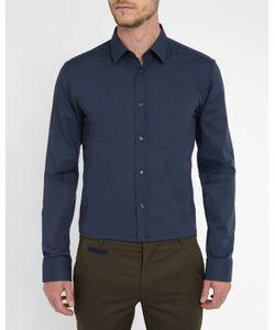 Hugo - Hugo Boss | Navy Pr Elisha End-On-End Cloth Shirt