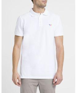 Maison Kitsuné | Tricolour Patch Polo Shirt