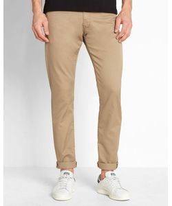 CARHARTT WIP | Sand Wash Vicious Lamar Stretch-Fit Tapered Jeans