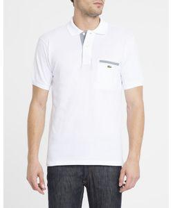 Lacoste | Logo Stretchfit Slim Long-Sleeve Polo Shirt