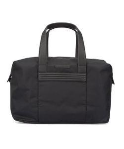 Armani Jeans | Dual-Material Weekender Bag With Aj Logo