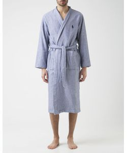 Polo Ralph Lauren | Chevron Double-Sided Sponge Bathrobe