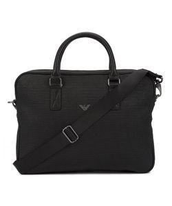 Armani Jeans | Armani Messenger Bag With Embossed Logo