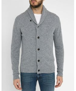 Hartford | Mottledbuttoned Wool Cardigan