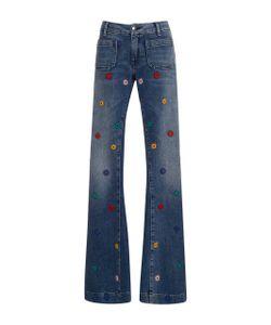 Seafarer   Penelope Embroide Flare Jeans