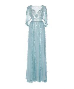 Zuhair Murad   Cape Chiffon Gown
