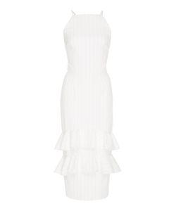 Christian Siriano | Pin Stripe Halter Dress