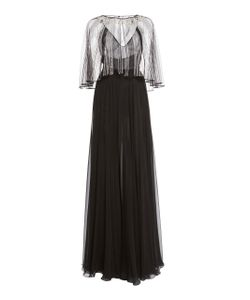 Zuhair Murad   Embellished Cape Gown