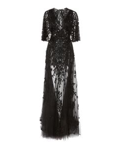 Zuhair Murad | Beaded Cape Gown