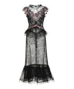 Rodarte | Glittered Chantilly Lace Dress