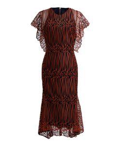 GINGER & SMART   Gloria Mesh Midi Dress