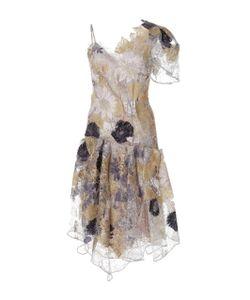 Rodarte | Waxed Lace Dropped Waist Dress