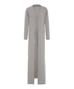 Nanna van Blaaderen | Mélange Diamond Knit Long Robe