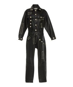 Rodarte | Quilted Leather Jumpsuit