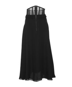 Sally Lapointe | Silk Double Georgette Corset Skirt