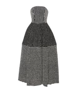Christian Siriano | Raffia Tea Length Dress