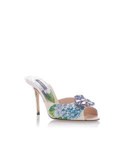 Dolce & Gabbana | Embellished Print Mules